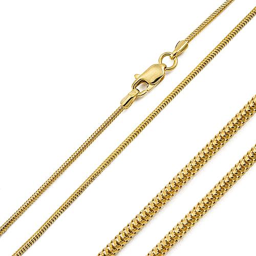 55308ffaace32 Złoty łańcuszek o splocie