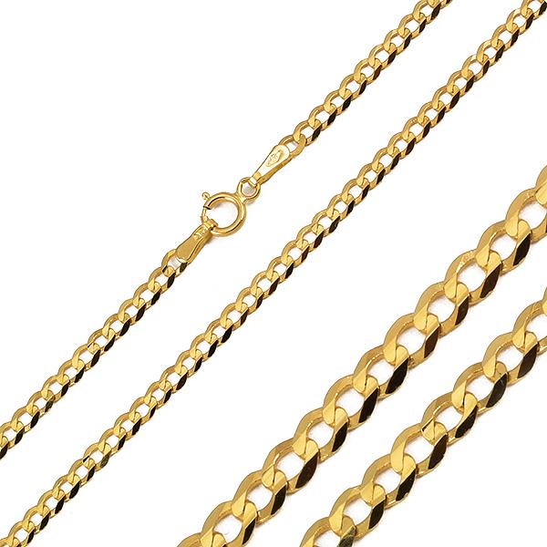 e79128c1edd9b Złoty męski łańcuszek   klasyczna