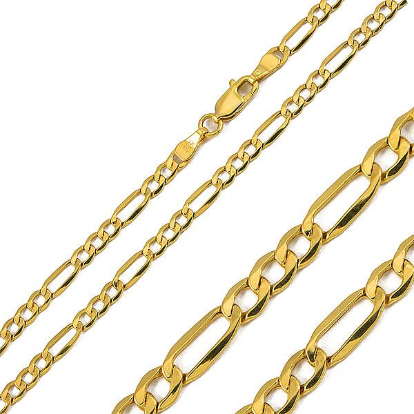 900a146784a10 Złoty męski łańcuszek o splocie