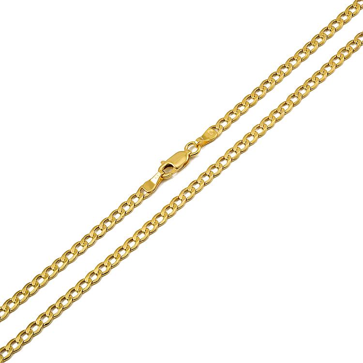 ed7537e9986b3 Złoty męski łańcuszek   klasyczna